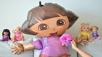 Pig George e Familia Peppa em Portugues Disney TOP toys Brasil - YouTube
