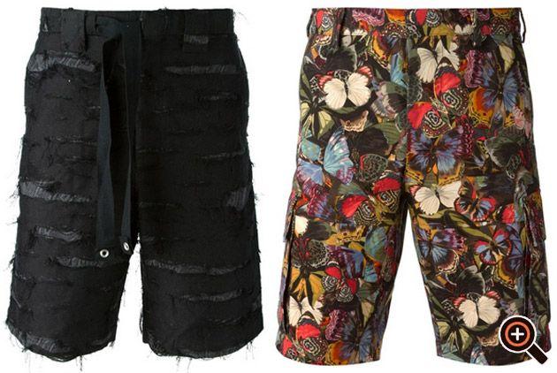 Kurze Hosen Herren – Jeans, Bermuda, Cargo & Leder Shorts für Männer