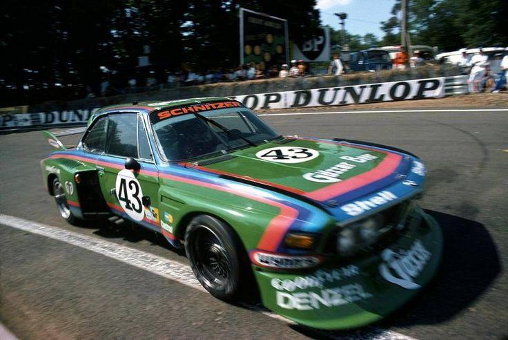 Dieter Quester / Alain Peltier / Albrecht Krebs (BMW 3.5 CSL ) 24 Heures du Mans 1976