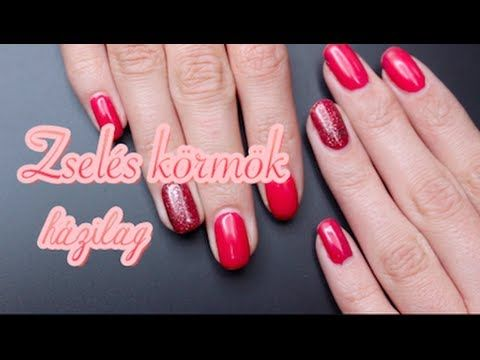 Zselés körmök házilag I essence gel nails at home