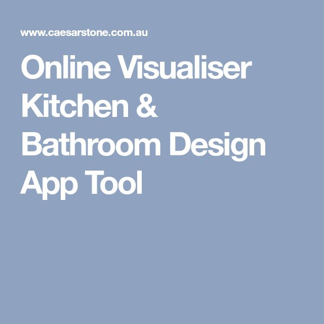Online Visualiser Kitchen  Bathroom Design App Tool DIANNE\u0027S