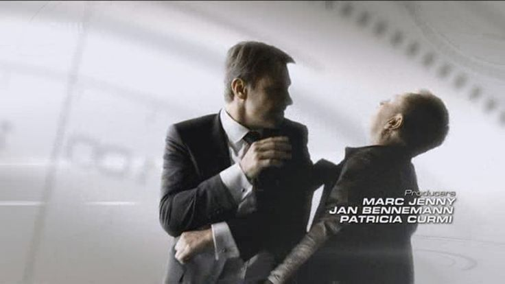 Chris Vance as Frank Martin in Transporter: The Series