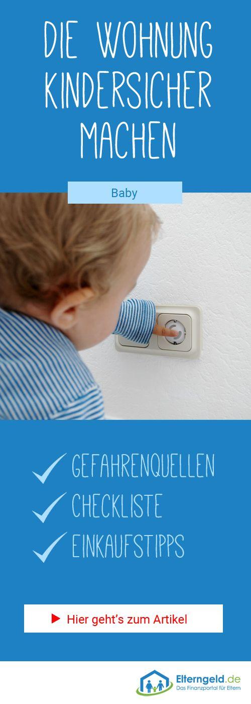 ᐅ Wohnung kindersicher machen: Die Checkliste – JuSa