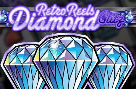 Verlocken dich glänzende Diamanten? Dann ist der Retro Reels Diamond Glitz #Spielautomat von #Microgaming für dich! Lass die Walzen drehen und geniesse das Spiel!