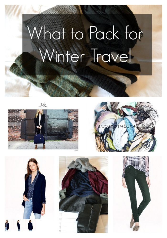 What to Pack for Winter Travel -- From This Is My Happiness Travel Blog