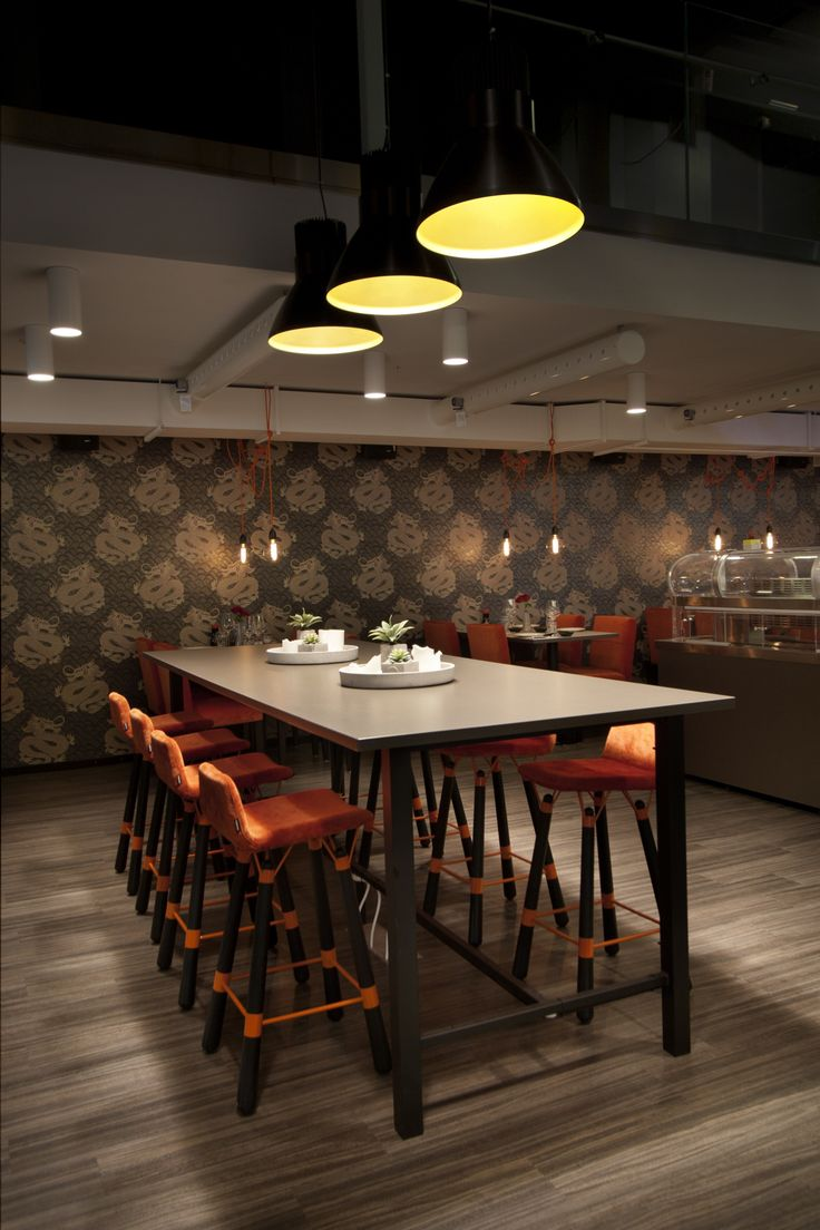 Restaurant ZAN Kista Galleria. Restaurant Interior. PongGruppen.