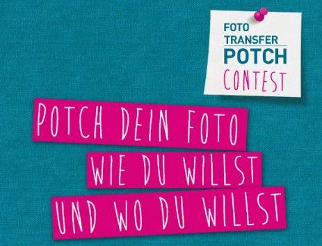 #machmehrselbst und gewinne! Unser FOTO TRANSFER POTCH Contest mit @mollie wren wren Makes. Wir suchen die originellste Potch-Idee