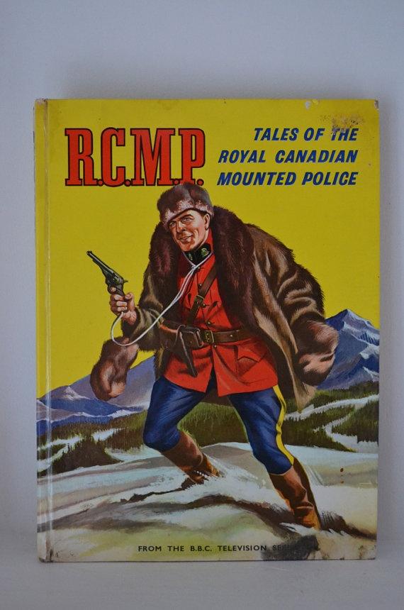 Vintage RCMP Book