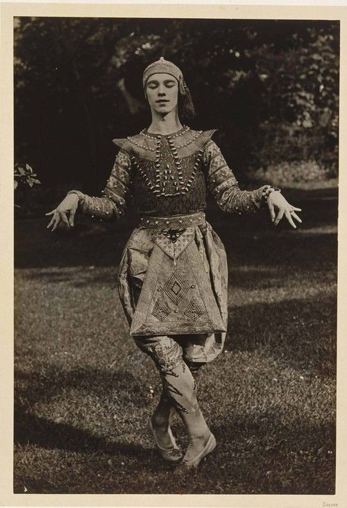 Vaslav Nijinsky, Russian ballet dancer and choreographer of Polish descent.
