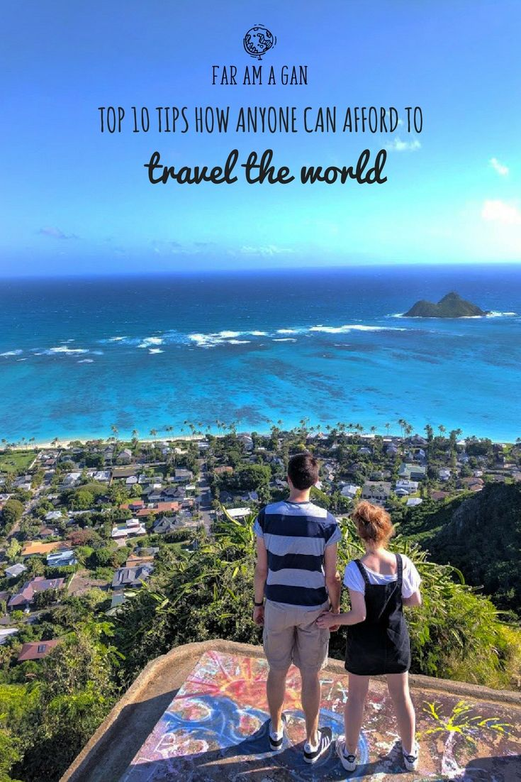 Want to travel the world but think you can't afford it? These top tips and hacks will help you save money, find cheap flights and free accommodation so your next adventure is sooner than you think! Written by two Scottish backpackers who so far have seen over 20 countries - including Iceland, Hawaii, Italy and Switzerland!