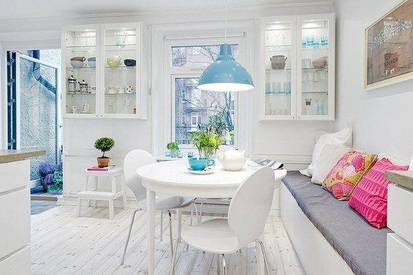 Белый цвет в интерьере, дизайн интерьера, советы как выбрать цвет интерьера