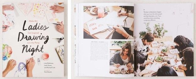 A book made specifically for all the ladies who love to draw! | 32 Gifts For People Who Love To Draw