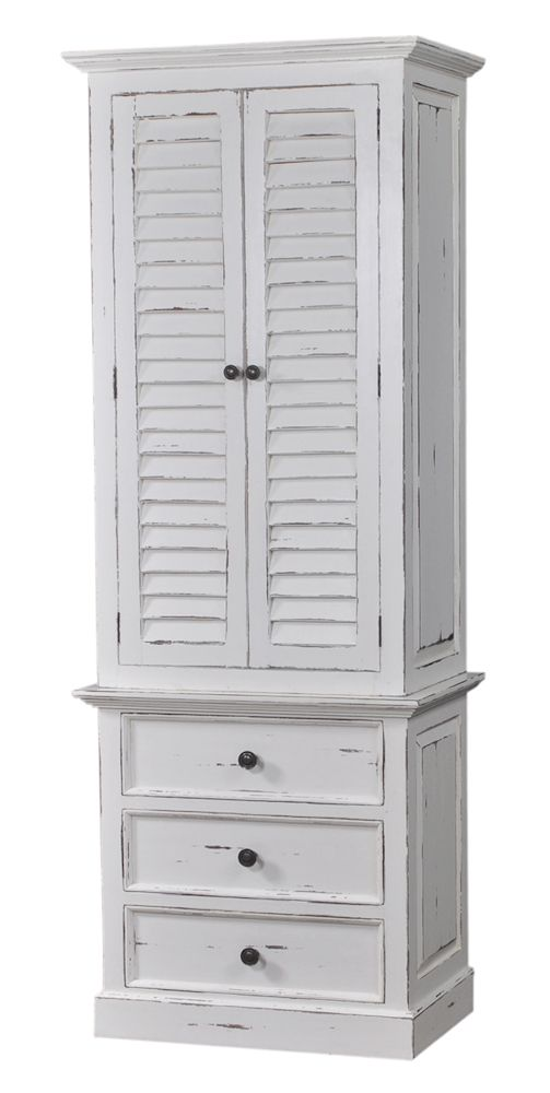 Attirant The Bramble Company Nantucket Tall Shutter Cabinet.