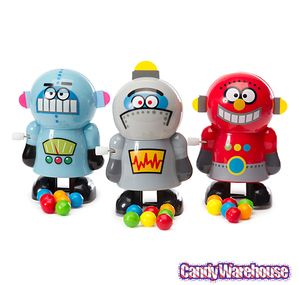 Wind-up Robot Candy Poopers: 3-Piece Set