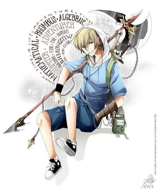 Finn the (anime) Human