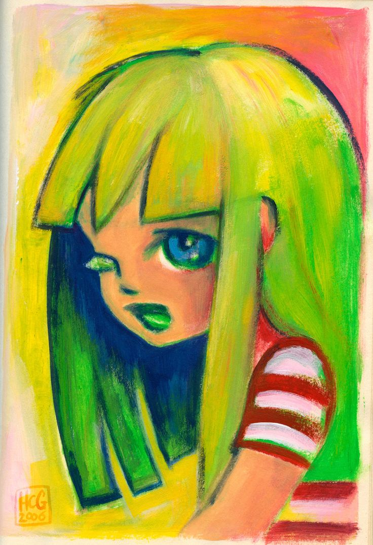 Illustratie uit Dummy 10 By Hilda Groenesteyn / studio HILLE