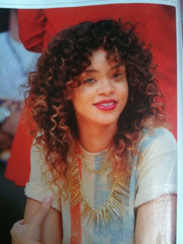 Curly shag!