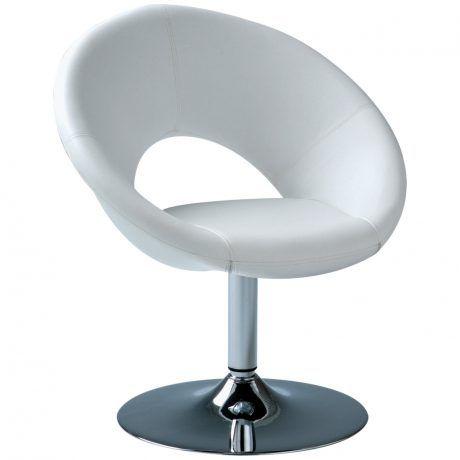 STAR W - witte lounge stoel - Tanja Verhuur