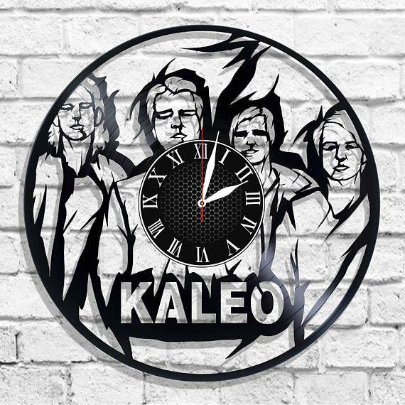 Kaleo band design wall clock Kaleo wall poster