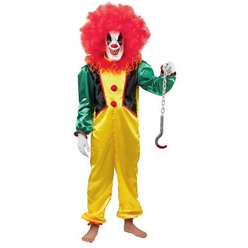 Τρομακτικός Κλόουν Μπομπ στολή για αγόρια
