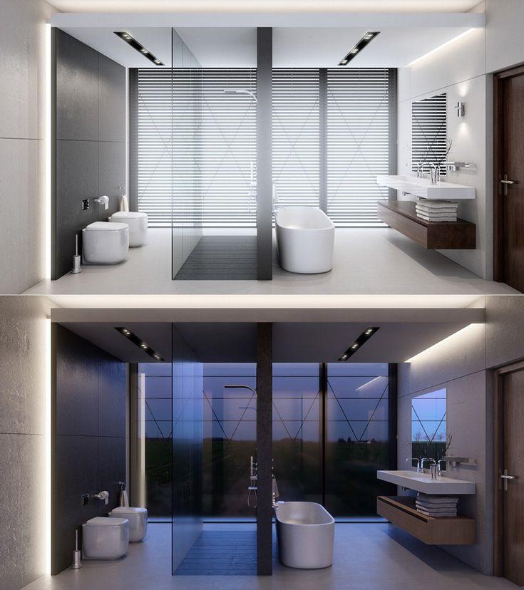 38 Luxurious Bathrooms Decorated With Art Pieces   http://www.designrulz.com/design/2015/11/38-luxurious-bathrooms-decorated-with-art-pieces/