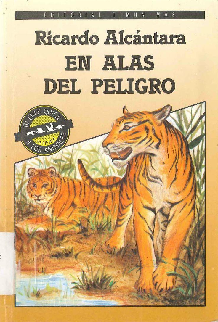 En alas del peligro de Ricardo Alcántara; ilustraciones de Gemma Sales. Publicado por  Timun Mas , 1988.