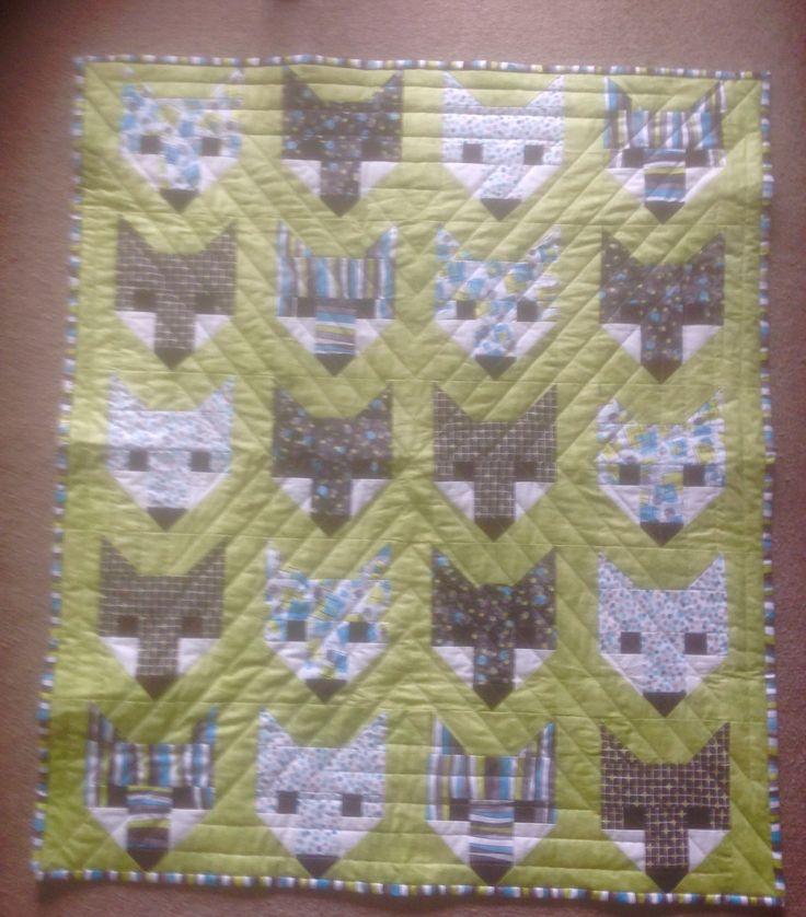 Fox quilt for Carson