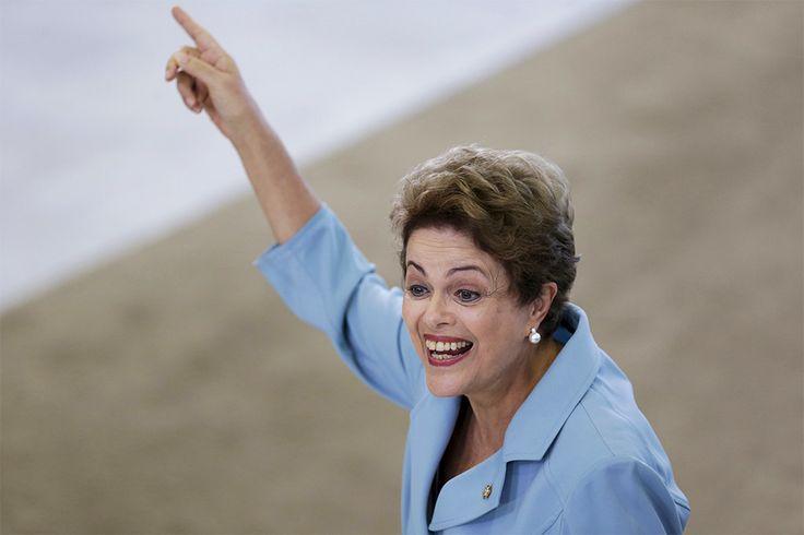 Самые влиятельные женщины мира. Президент Бразилии ДИЛМА РУСЕФ.