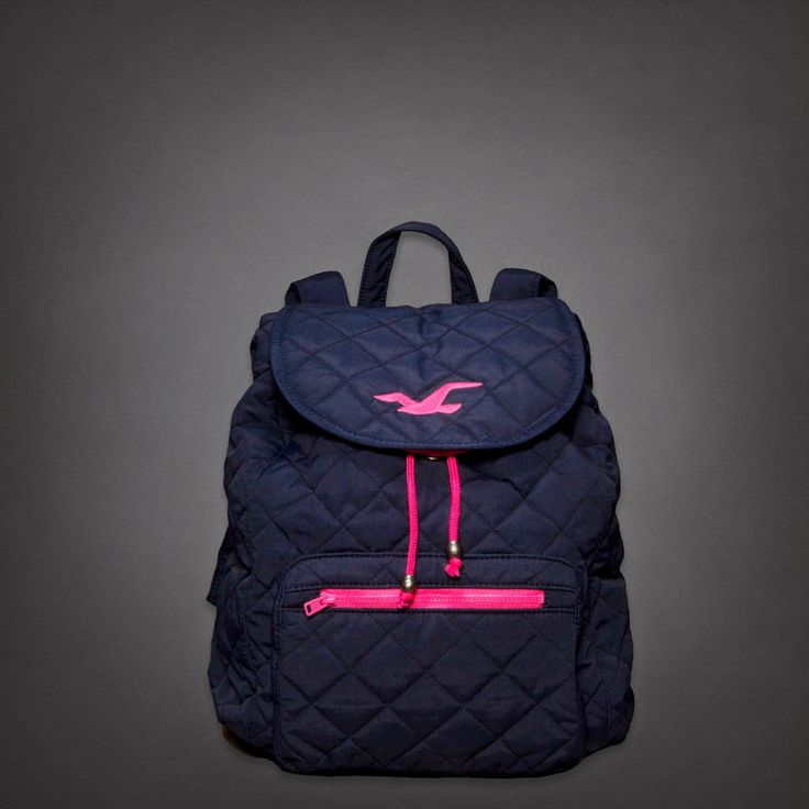 BACKPACK- BACK TO SCHOOL HOLLISTER