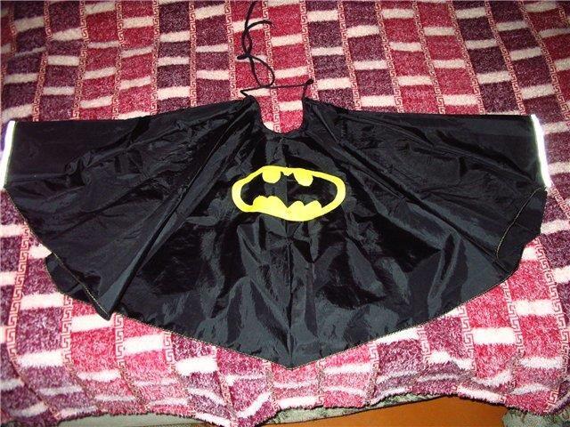 Выкройка плащ бэтмена
