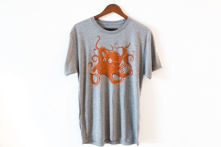 Get tangled with this Octo friend and @nextleveltees #6010 premium heather 😍  check it here