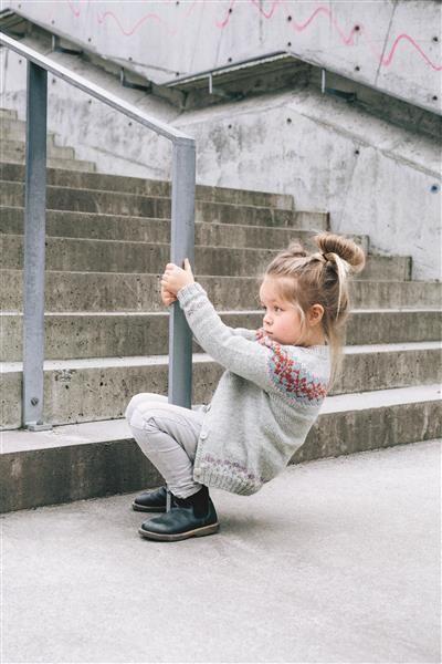 1509: Design 12 Kofte med rundt bærestykke #strikk #knit #ull #wool #SandnesGarn