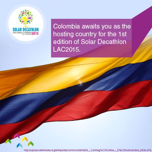 Colombia is internationally known for its joy and warmth for welcoming visitors...and is especially getting ready for welcoming everyone for Solar Deacthlon Latin America and the Caribbean