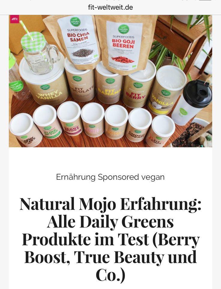 Natural Mojo Erfahrung: Alle Daily Greens Produkte im Test (Berry Boost, True Beauty und Co.)  Meine Natural Mojo #Erfahrung: Was ist Natural Mojo? Alle Infos im Überblick mit der #Anwendung, meiner Bewertung, einem #Rabattcode und mein sehr ausführlicher Erfahrungsbericht. (#Gutscheincode und Testvideo)