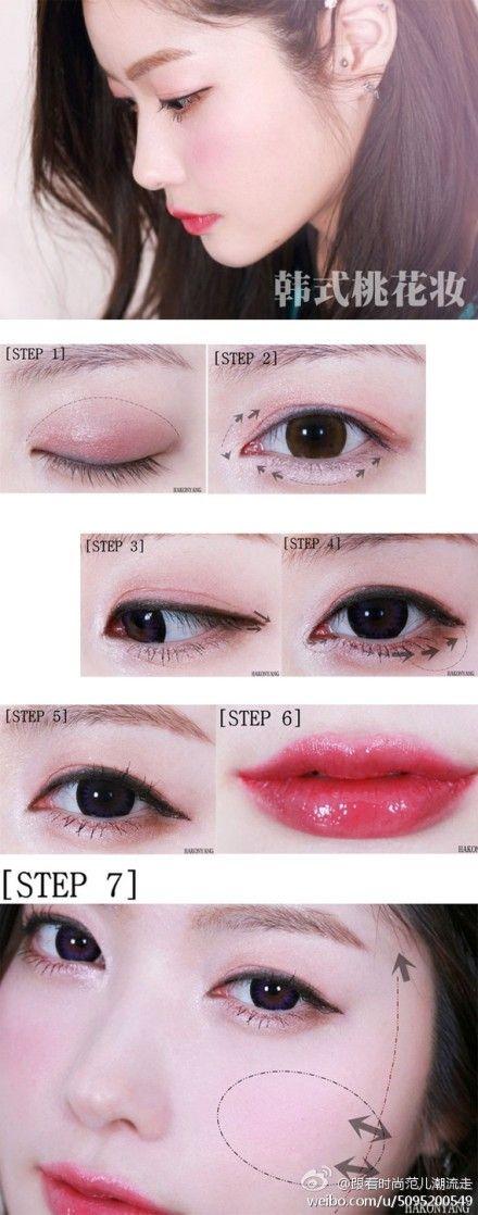 Korean make up #JoinNerium #DebbieKrug #NeriumKorea www.AsianSkincare.Rocks
