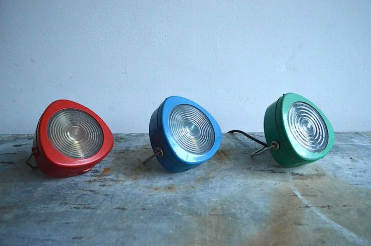 Colorful table/wall lamps (3 pc) |artKRAFT interior&design