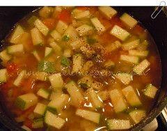 Sazonando la sopa