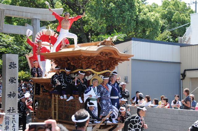 岸和田だんじり祭り 平成26年度 春木地区 春木宮本町