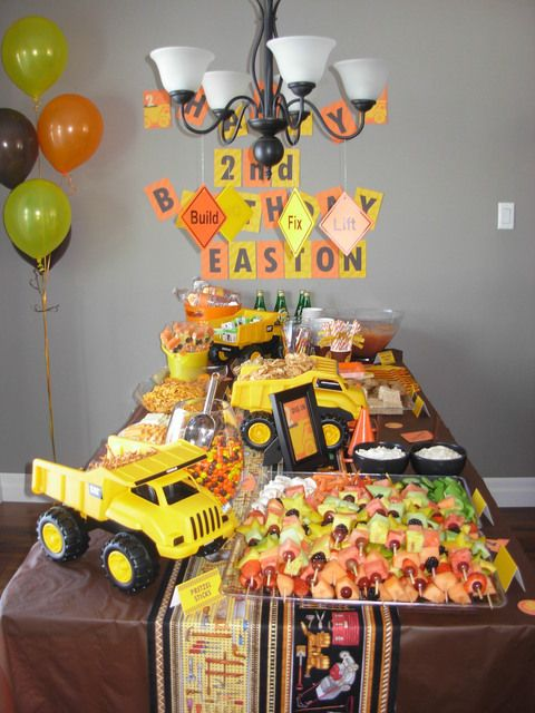 100 best Construction party images on Pinterest Birthday party