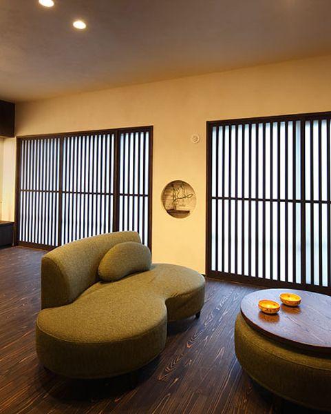 Modern Japanese livingroom #japanmodern