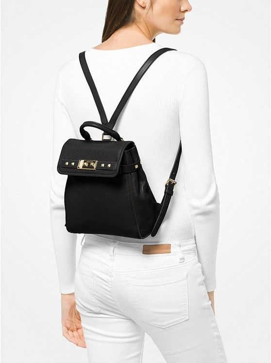 6eecd0bc3800 KORS ON SALE 63% off @ Micheal KORS thru 11/27! The Addison Small Pebbled  Leather Backpack ~ Today's Fashion (Sale) Item