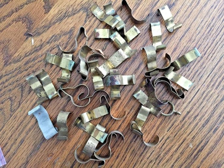 Lot of 42 Antique Victorian Picture Rail Hooks-Molding Picture Hanger Hooks