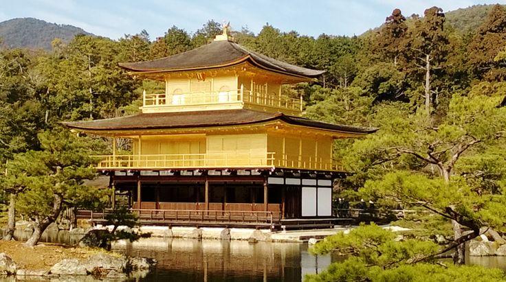 Golden Pavilion, Kyoto, December 2013