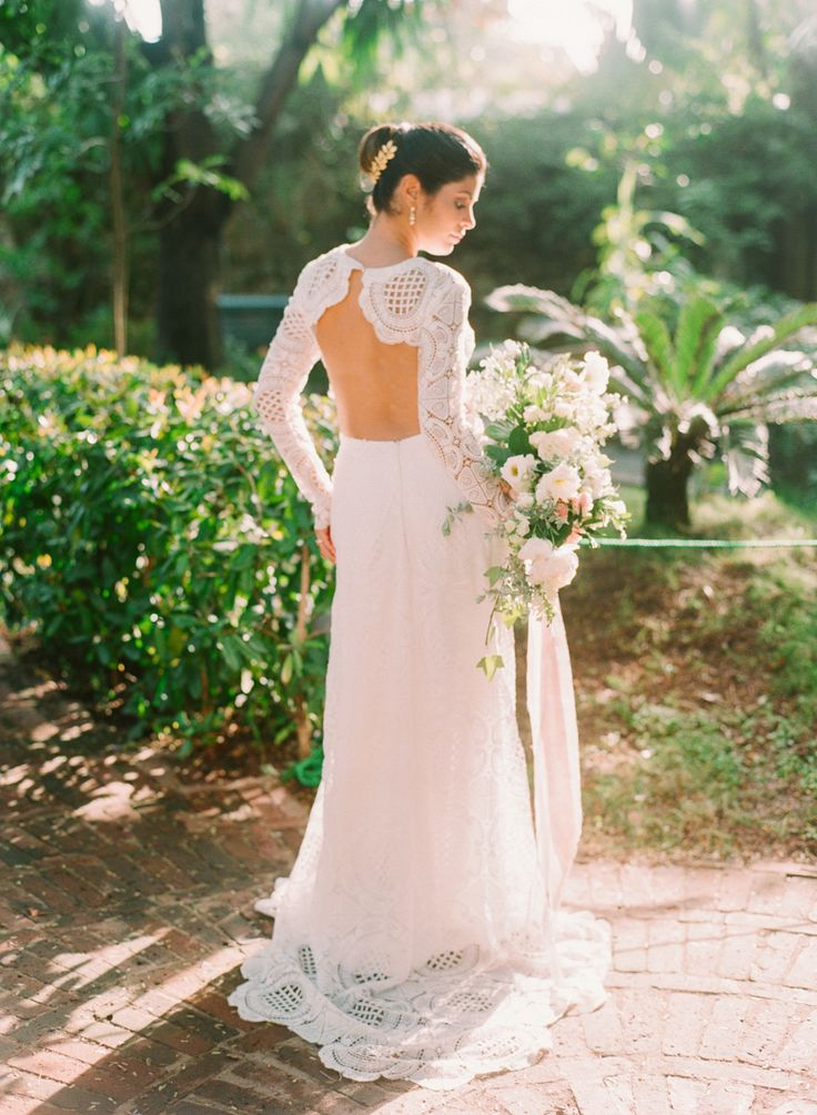 Photography : Taken by Sarah Photography Read More on SMP: http://www.stylemepretty.com/destination-weddings/2016/07/06/youll-want-to-get-married-just-to-wear-this-gown/