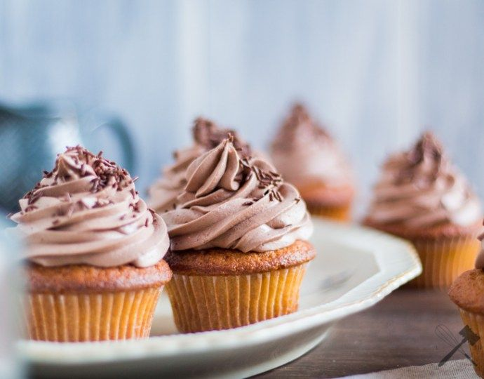 5-Gewürze Cupcakes