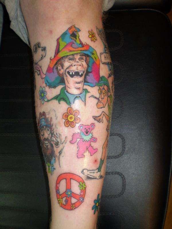Hippie Tattoos | Hippie tattoo