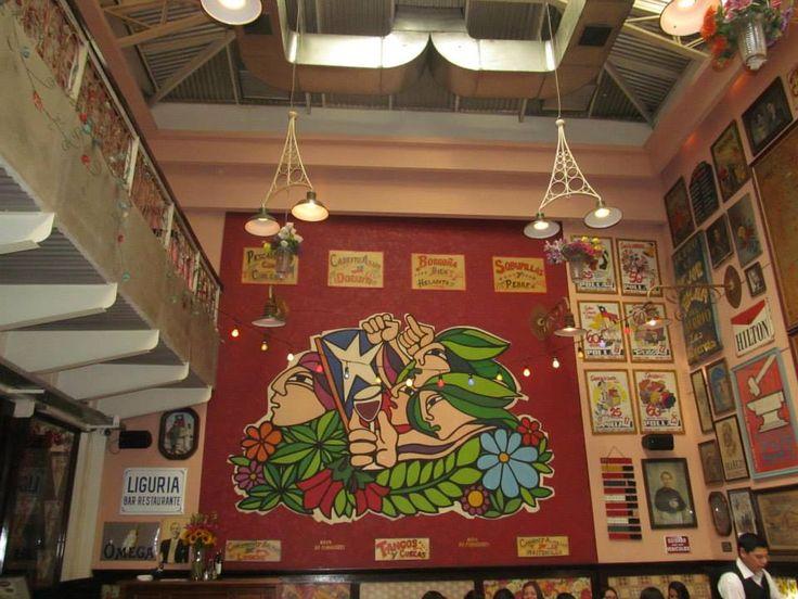 Restaurante Liguria /  Santiago de Chile