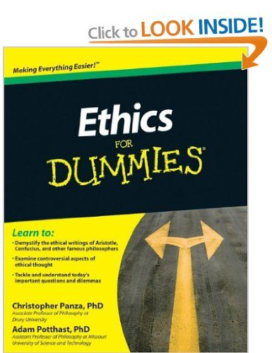 Ethics For Dummies For Dummies Lifestyles Paperback
