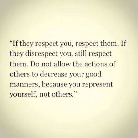 You represent yourself
