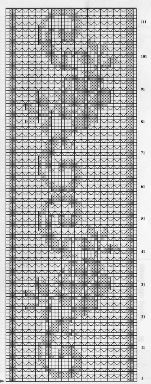 Kira scheme crochet: Scheme crochet no. 2029